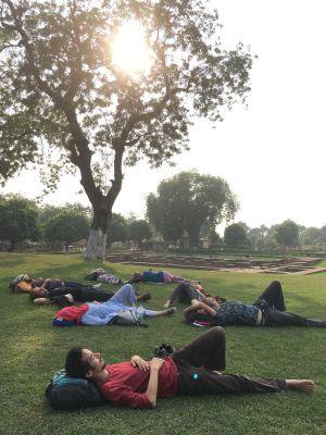 Pause à Sarnath